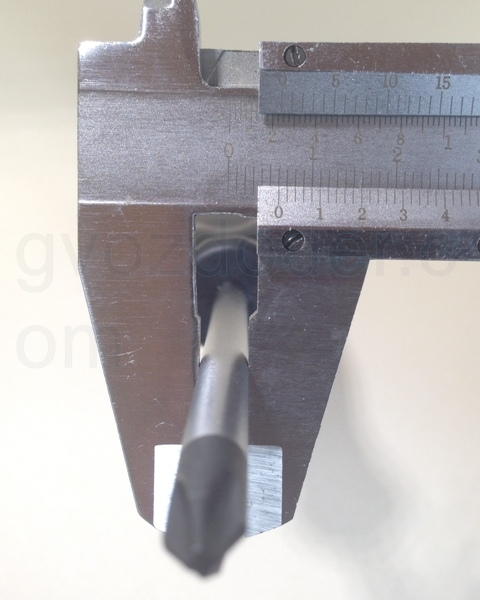 Толщина стержня отвёрток Jonnesway Hercules
