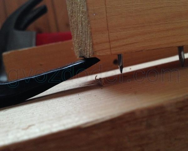 Разбор деревянных конструкций гвоздодёром Sparta 300 мм