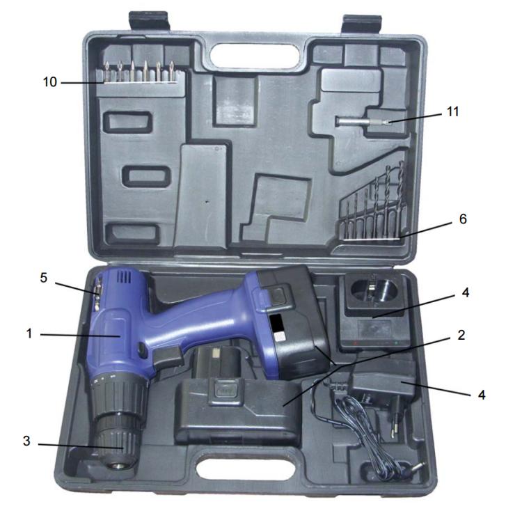 Основной вариант комплектации Диолд ДЭА-18Т