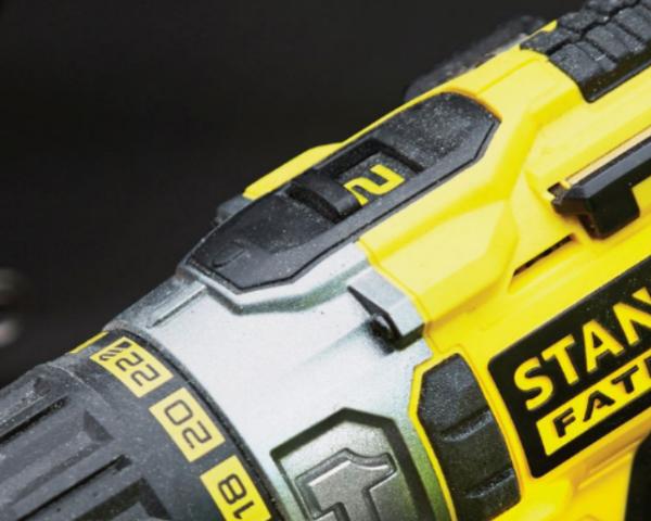 Двухскоростной редуктор шуруповёрта Stanley STDC18LHBK-RU