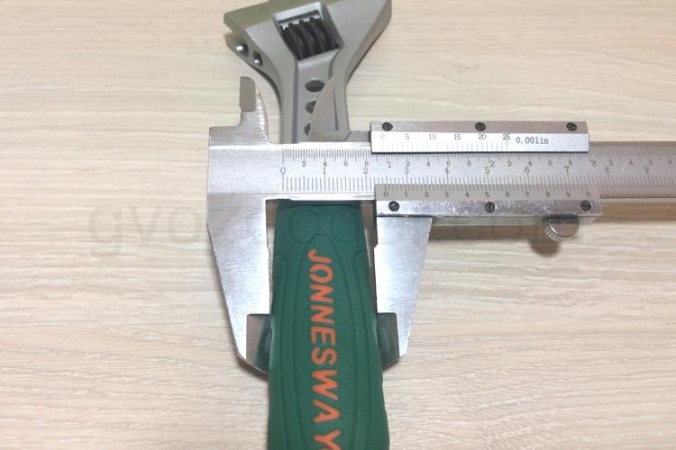 Толщина рукоятки разводного ключа Jonnesway W27AT8