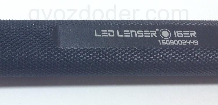 Рифление поверхности на фонаре Led Lenser i6ER