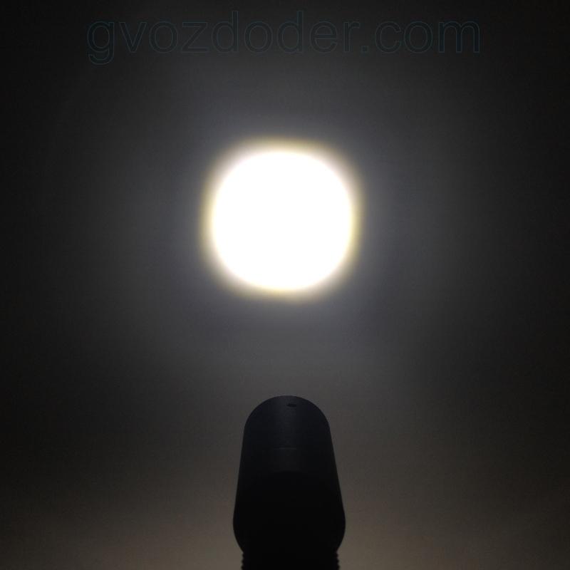 Световое пятно фонаря Led Lenser i6ER