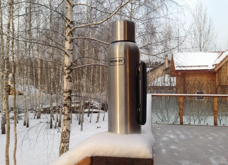 Конструкция термоса Stanley Adventure 1.3L Steel