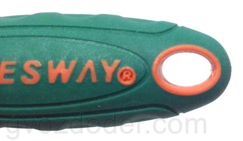 """Сантопреновое покрытие рукоятки трещотки Jonnesway 1/4""""DR R2902B"""