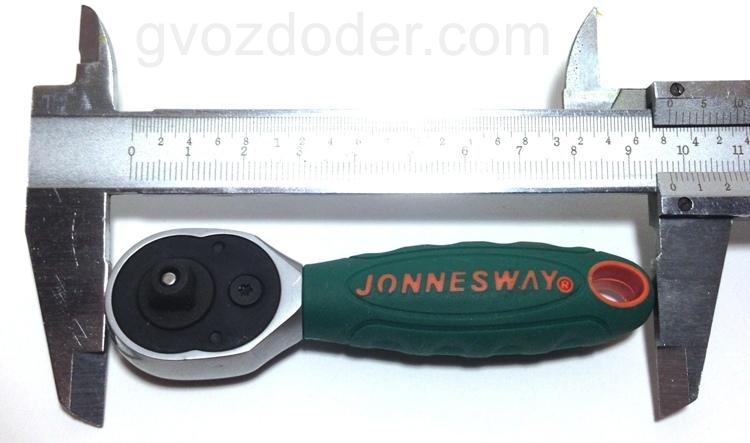 """Длина трещотки Jonnesway 1/4""""DR R2902B"""