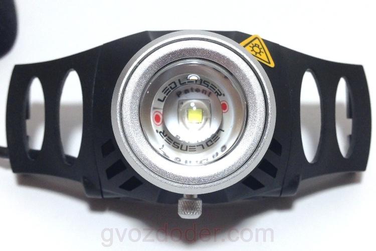 Световая головка фонаря Led Lenser H6R