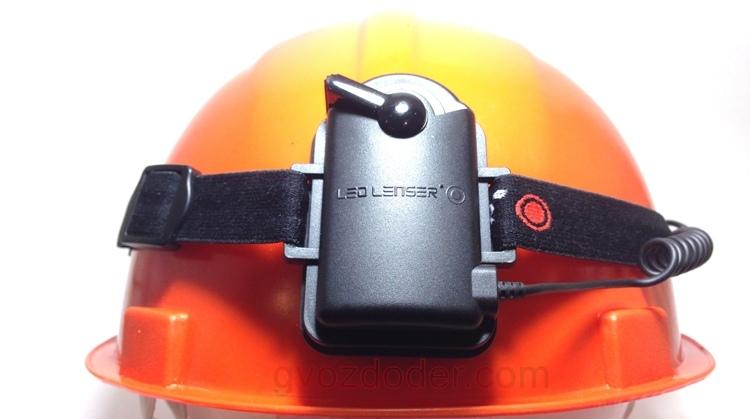 Обзор фонаря Led Lenser H6R