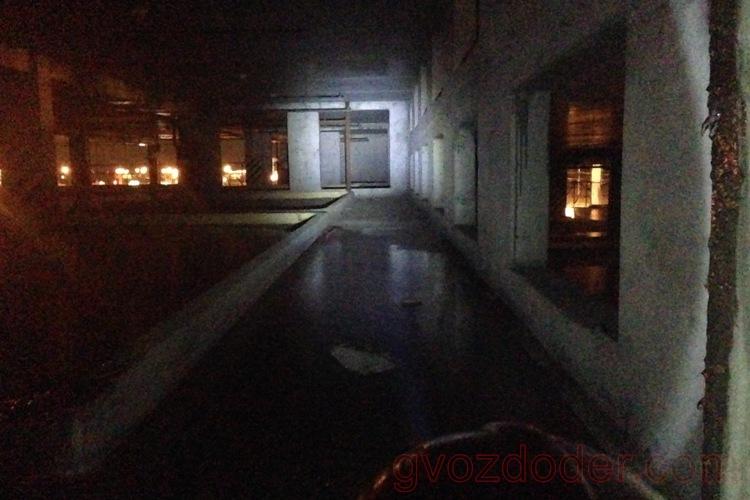 Дальний свет фонаря Led Lenser H6R