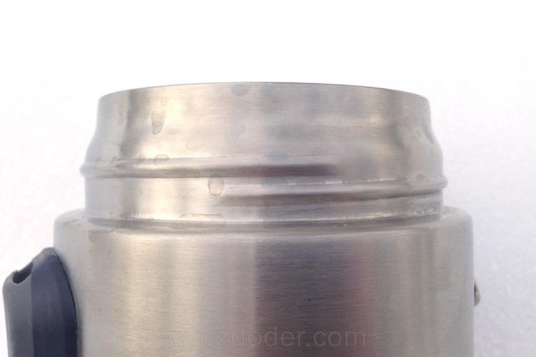 Конструкция термоса для еды Stanley 0.53 Steel