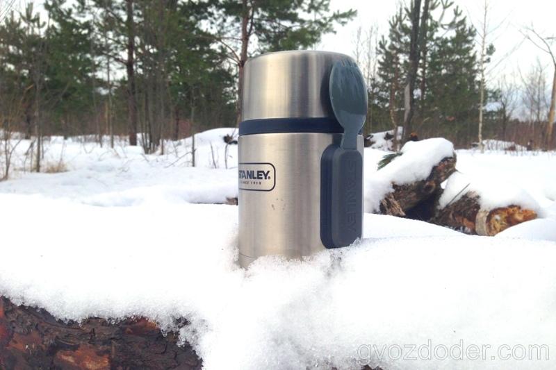 Обзор термоса для еды Stanley 0.53 Steel