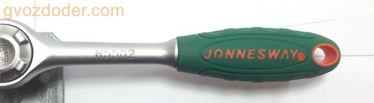 Замер обратного хода трещотки Jonnesway R5502