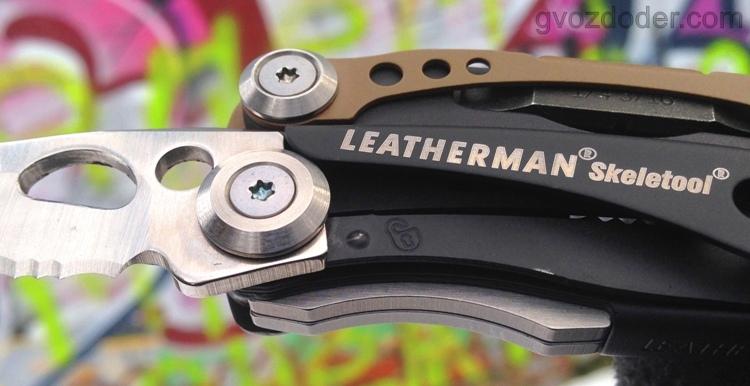 Linear Lock на мультуле Leatherman Skeletool