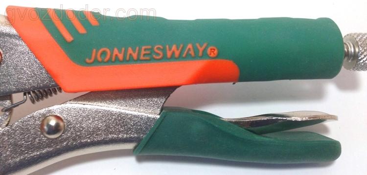 Тест ручных тисков Jonnesway P30M07C