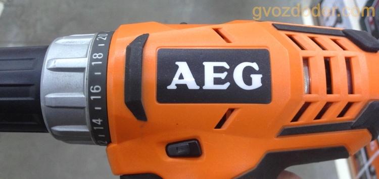 Шуруповёрт AEG BS 18G2