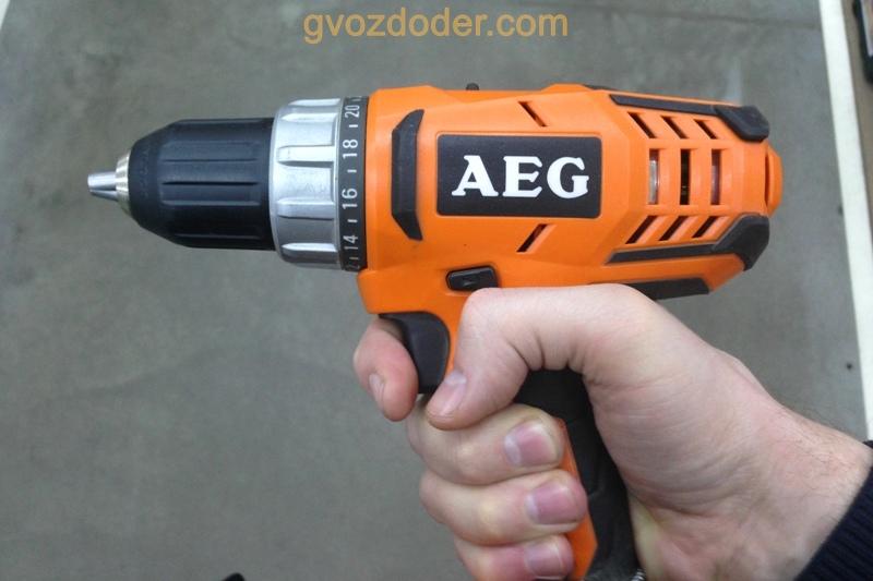 Шуруповёрт AEG BS 18G2. Обзор