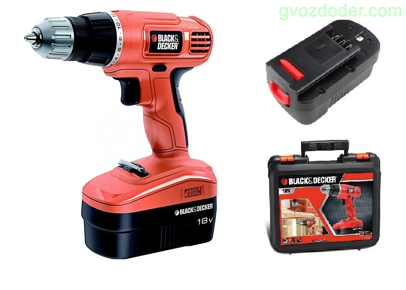 Black Decker EPC 18 CAK
