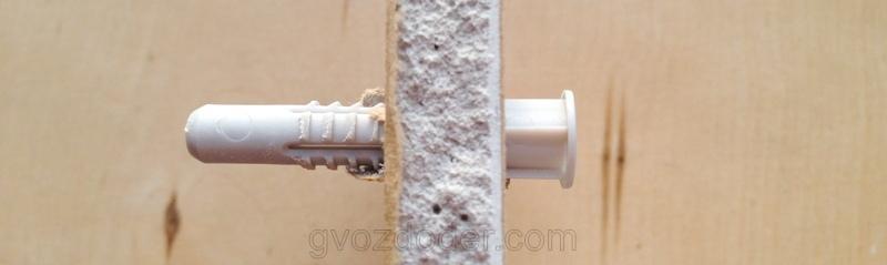 Дюбель PDU для полых стен