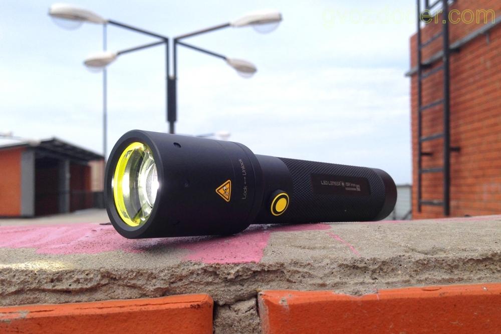 Обзор фонаря Led Lenser i9R-iron