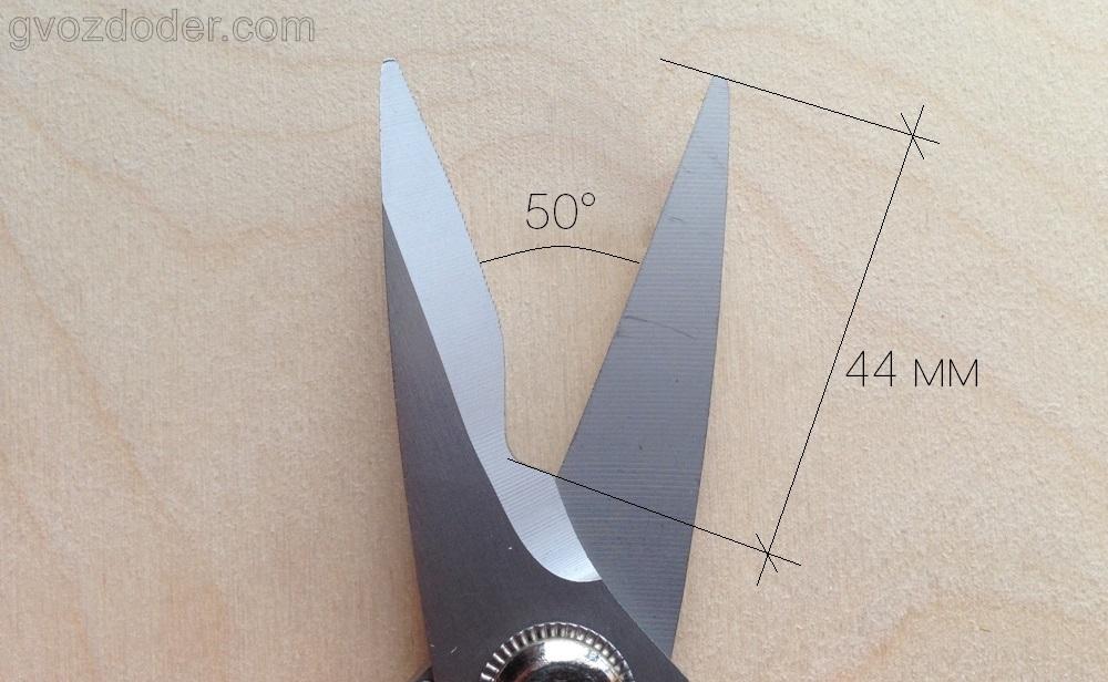 Универсальные ножницы Ombra