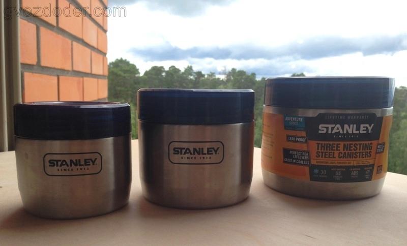 Контейнеры Stanley Adventure. Обзор.