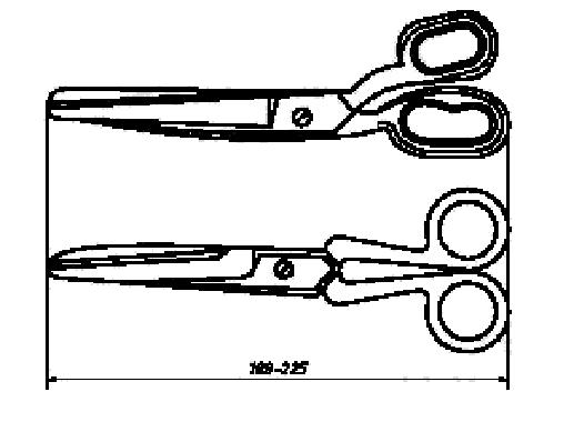 ГОСТ Р 51268-99. Ножницы