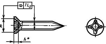 ГОСТ 11652-80. Винты самонарезающие с потайной головкой