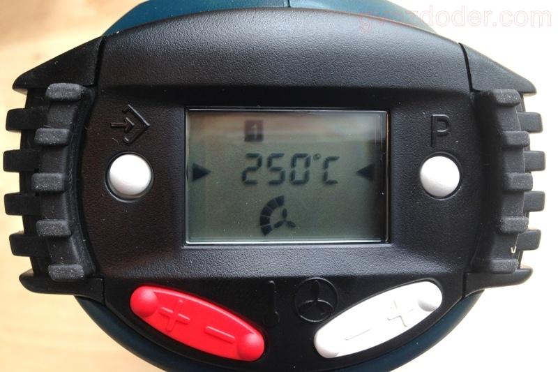 Обзор строительного фена Bosch GHG 660 LCD