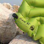 Воздушный барьер: Klymit Static V2 – Надувной туристический коврик