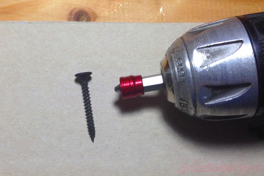 Биты Ombra со сменным магнитным держателем