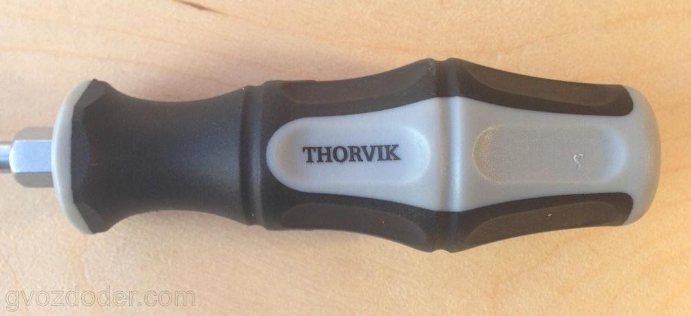 Ударная стержневая отвёртка Thorvik