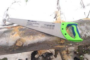 Ножовка по дереву Сибртех Зубец