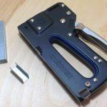 Скобострел: Мебельный степлер Сибртех