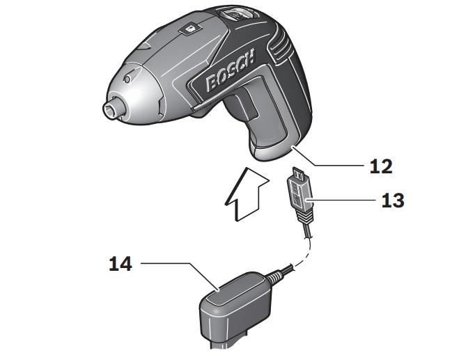 Схема устройства Bosch IXO V Full