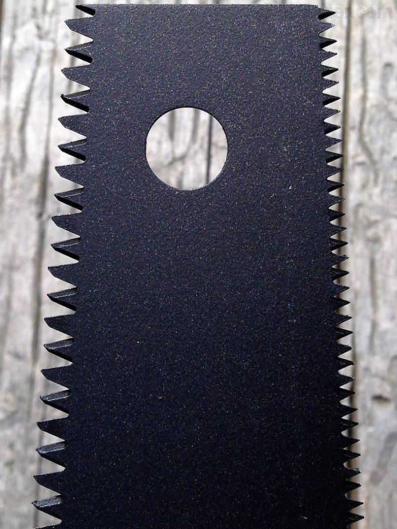 Двухстороннее полотно ножовки по дереву