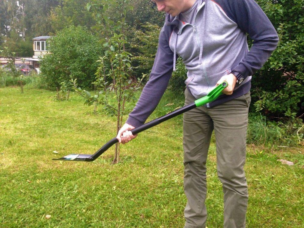 Лопаты Сибртех довольно тяжелы