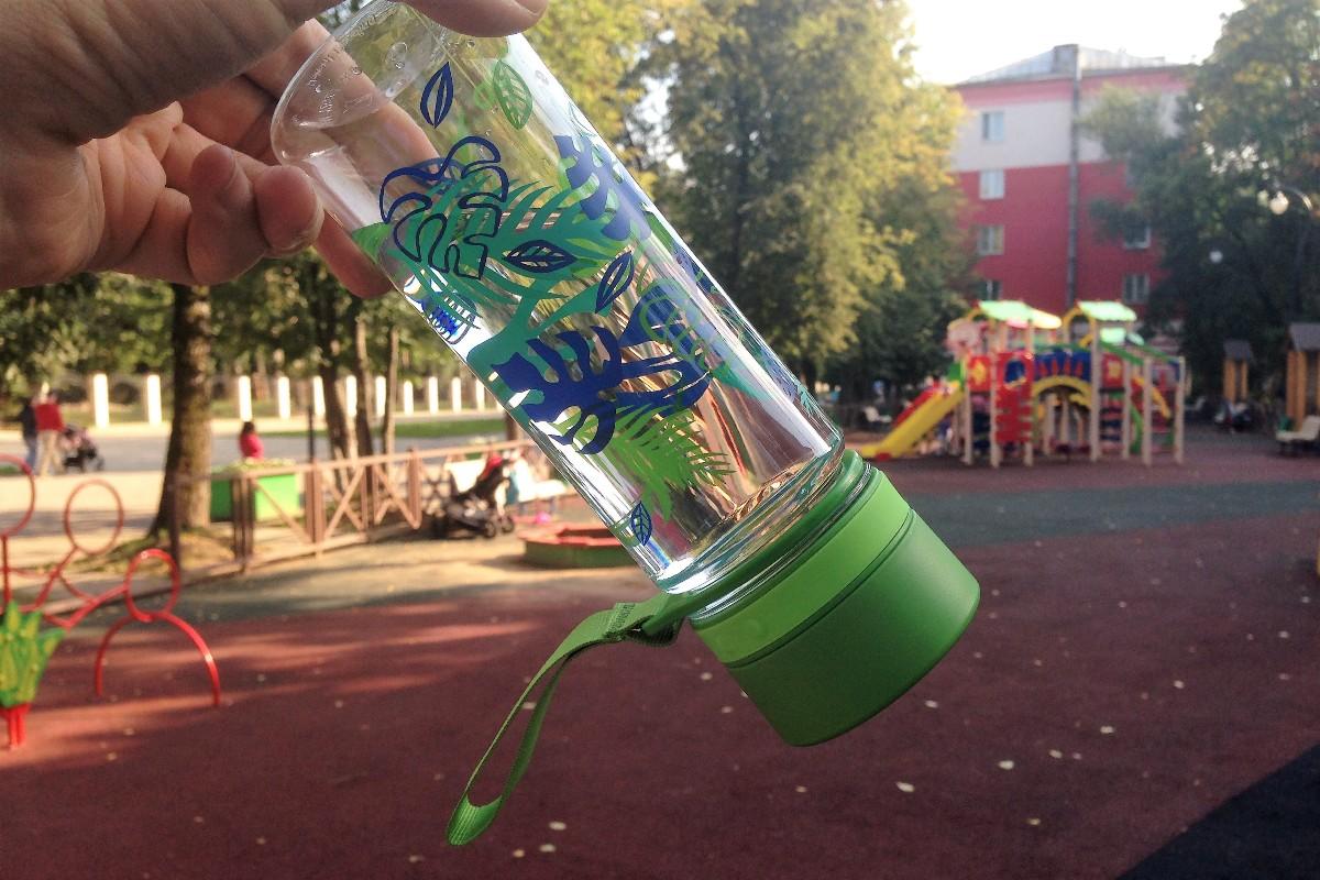 Бутылка Аладдин Авео полностью герметична