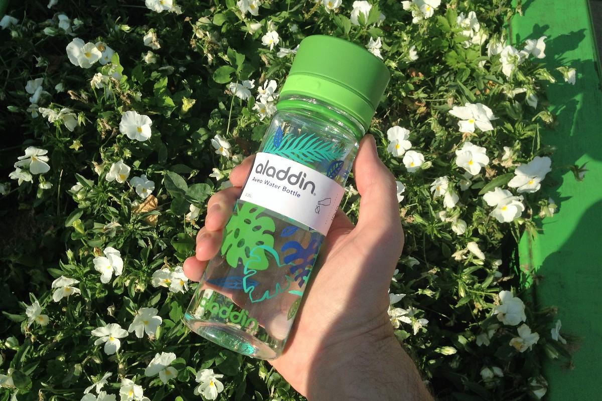 Бутылка Aladdin Aveo в зеленом цвете