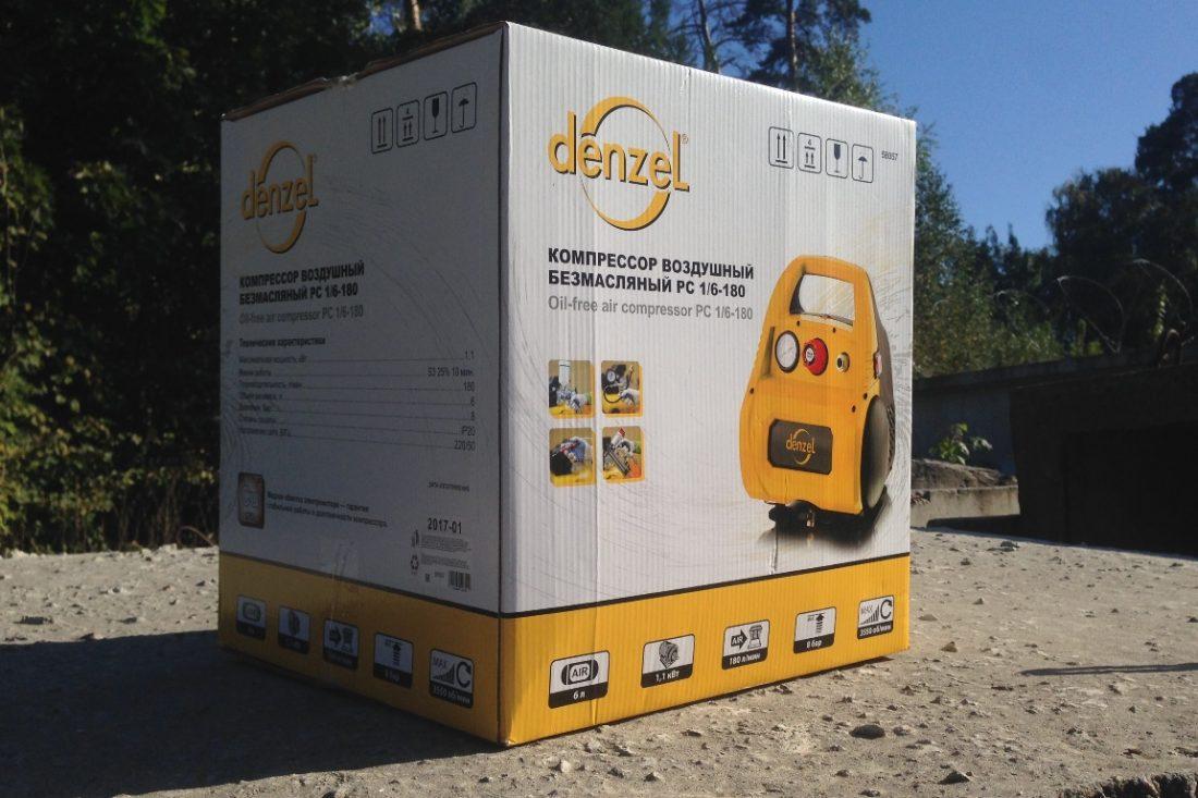 Упаковка компрессора Denzel
