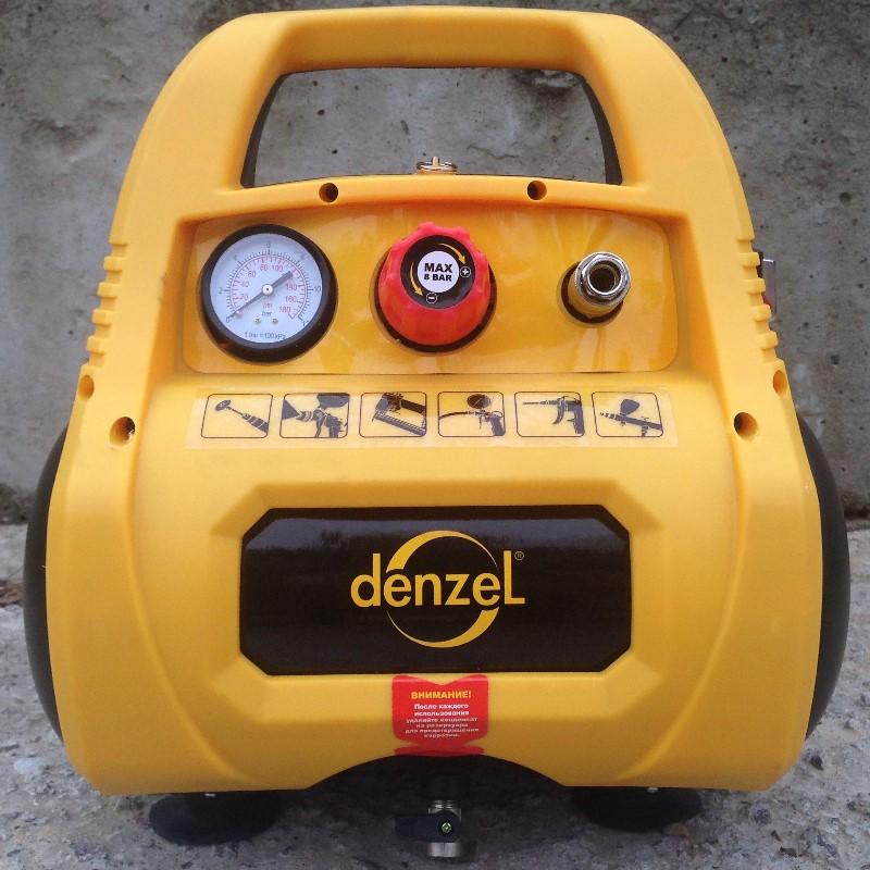 Лицевая сторона компрессора Denzel