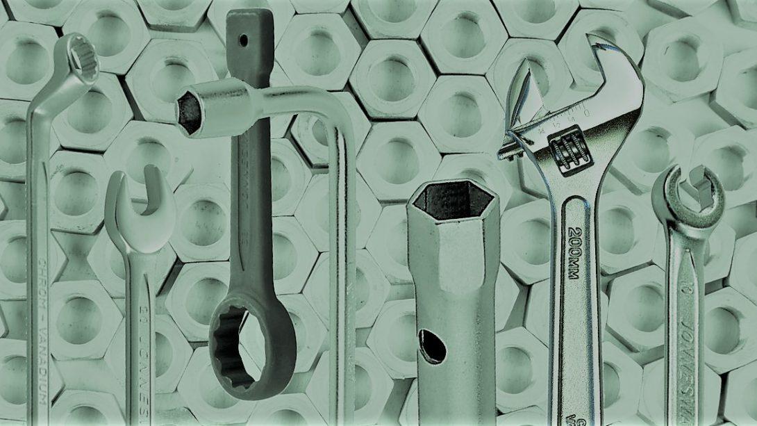 виды гаечных ключей