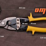 Ножницы по металлу Ombra 48010S