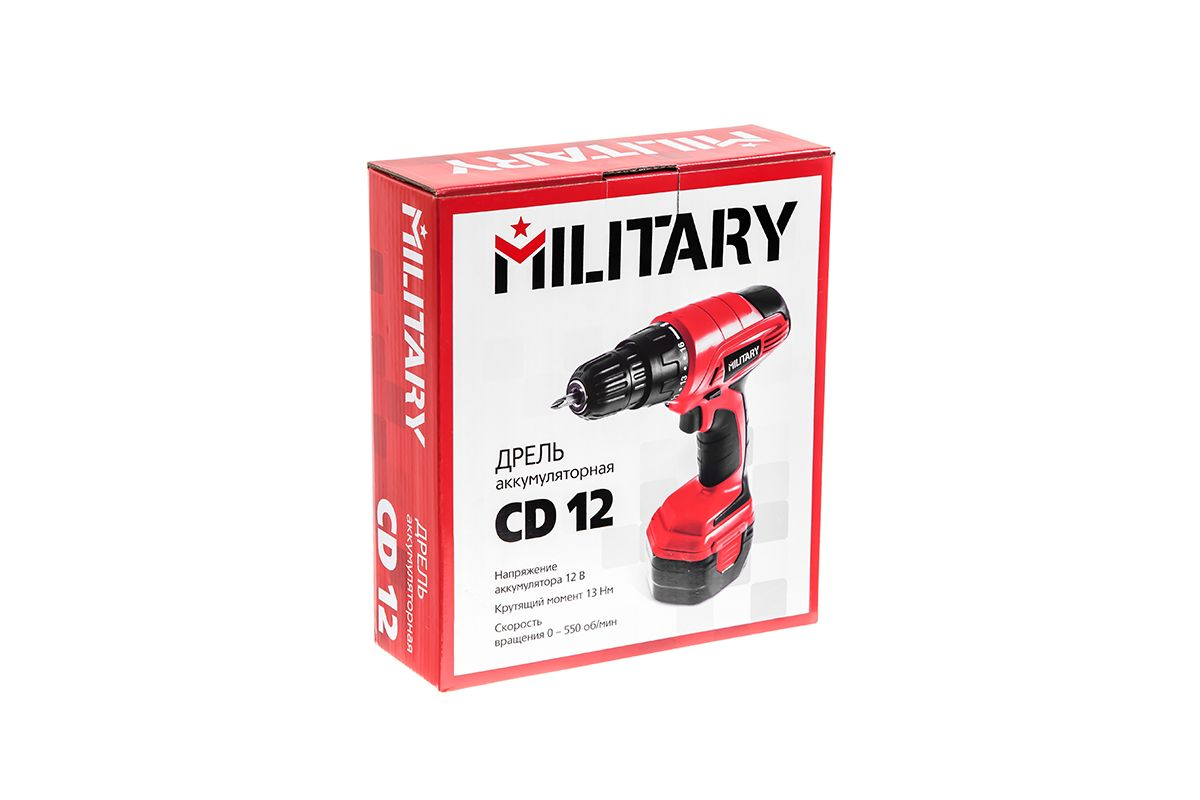Шуруповерт Military CD12