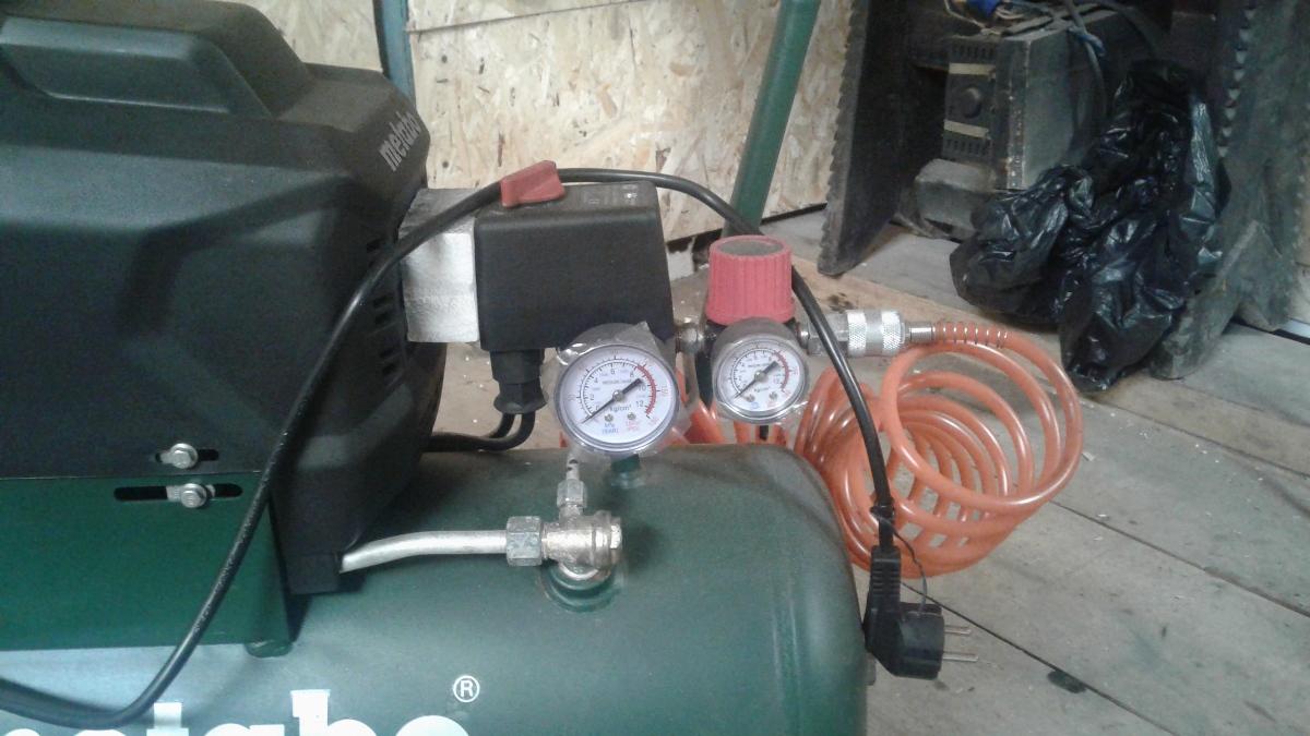 Средства контроля компрессора Метабо